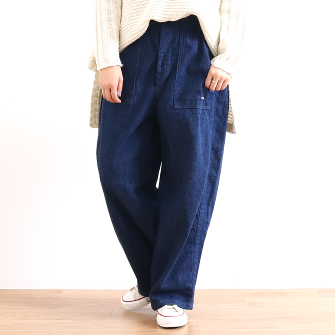 ORDINARY FITS(オーディナリーフィッツ) JAMES PANTS ONE WASH IND ジェームスパンツ ワンウォッシュ インディゴ OF-P045OW レディース